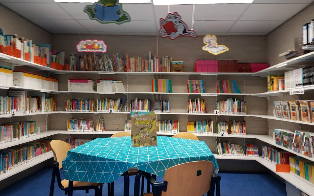 Schoolbibliotheek opnieuw ingericht